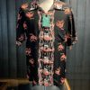 Sun Surf Tropical Fish Hawaiian Shirt, kurzarm, Loop Collar, Reverskragen, Rayon, Viscose, Gross real wear München, Black
