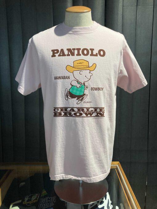Sun Surf Vintage Peanuts Charlie Brown T-Shirt, Gross real wear München, Rose, Hawaiian Cowboy, Cotton