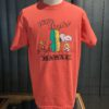 Sun Surf Vintage Peanuts Snoopy Wave Hunter T-Shirt, Red, Gross real wear München, Cotton