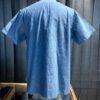 Buzz Rickson's Work Shirt Blue Chambray, kurzarm, Cotton, Brusttaschen, Gross real wear München, Harnknöpfe (Urea)
