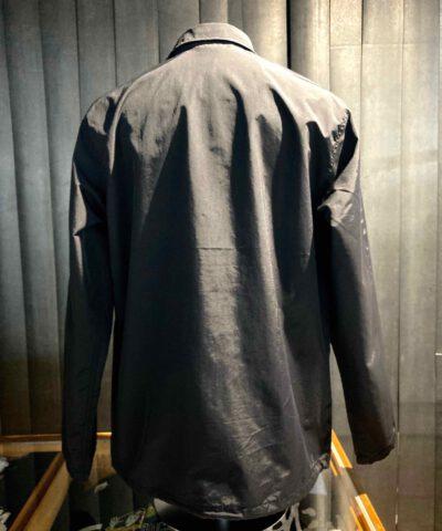 Dickies Oakport Coach Jacket, Nylon, Black, Druckknöpfe, Tunnelzug, Taschen, Innentasche, Gummibündchen, Mesh Innenfutter, Dickies Flag Logo, Gross real wear München