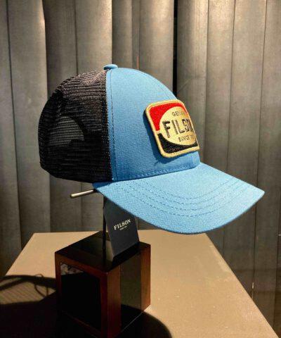 Filson Mesh Logger Cap, Blue, Gross real wear München, Snapback
