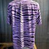 Star of Hollywood 1950's Tiger Shirt, kurzarm, Brusttasche, Viscose, Reverskragen, Loop Collar, Gross real wear München, Purple, High Density Rayon