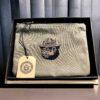 Filson Smokey Bear Rugged Twill Pouch, Otter Geen, Reißverschluss, Beutel, Gross real wear München, Limited Edition