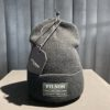 Filson Ballard Watch Cap, Filson Logo,Black, Gross real wear München, Acrylic