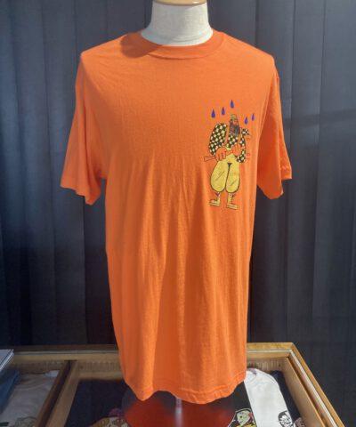 Filson Ranger Graphic T-Shirt, Orange Blaze, Gross real wear München, Front und Backprint, Cotton, Limited Edition
