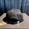 Stüssy 2 Ton Team Strapback Cap, Metallverschluss, Black, Red, Gross real wear München, Front Logo Stickerei, Stüssy Flag, One Size