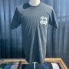 Stüssy Dice Pigment Dyed T-Shirt, Black, Front und Backprint, Würfel, Gross real wear München